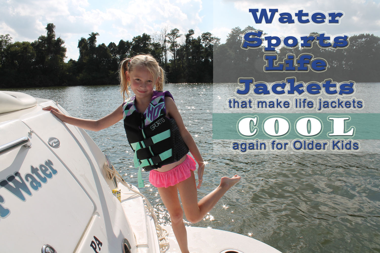 water sports life jackets kids