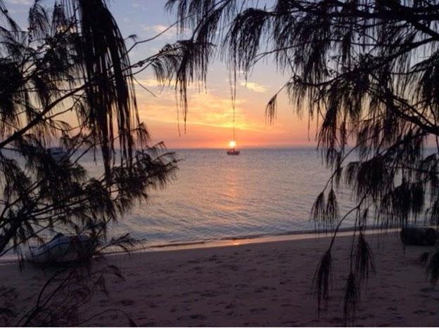 ingham island sunset