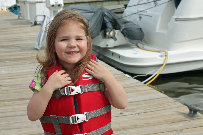 kids life jacket size