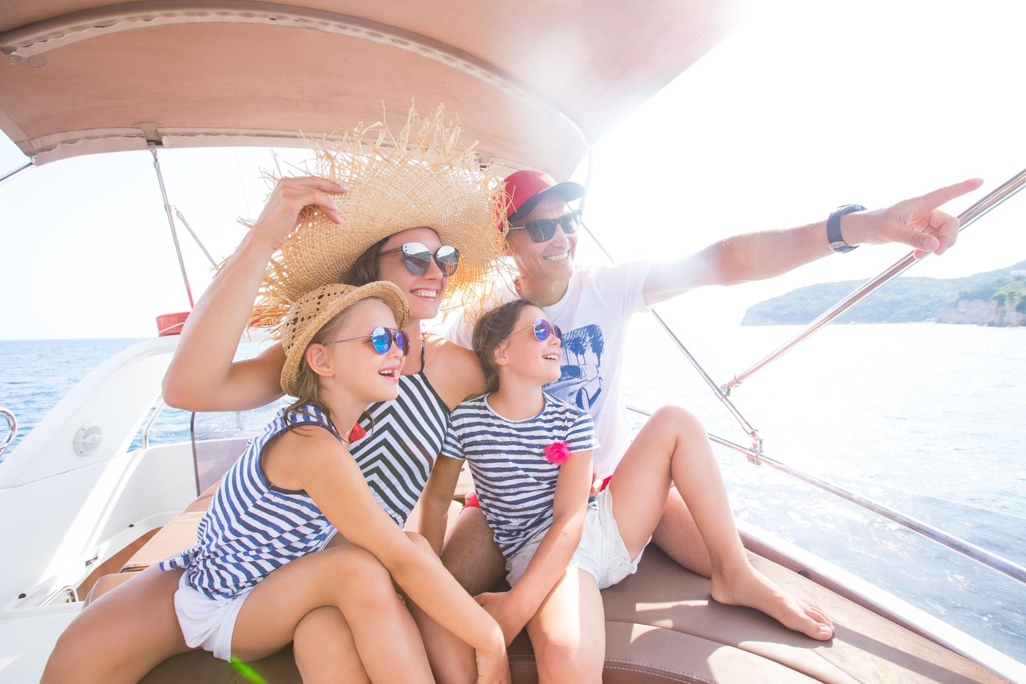 renting boat kids