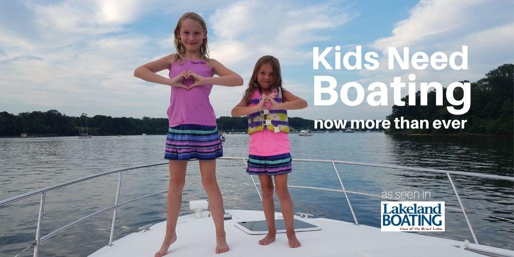 Kids need boating