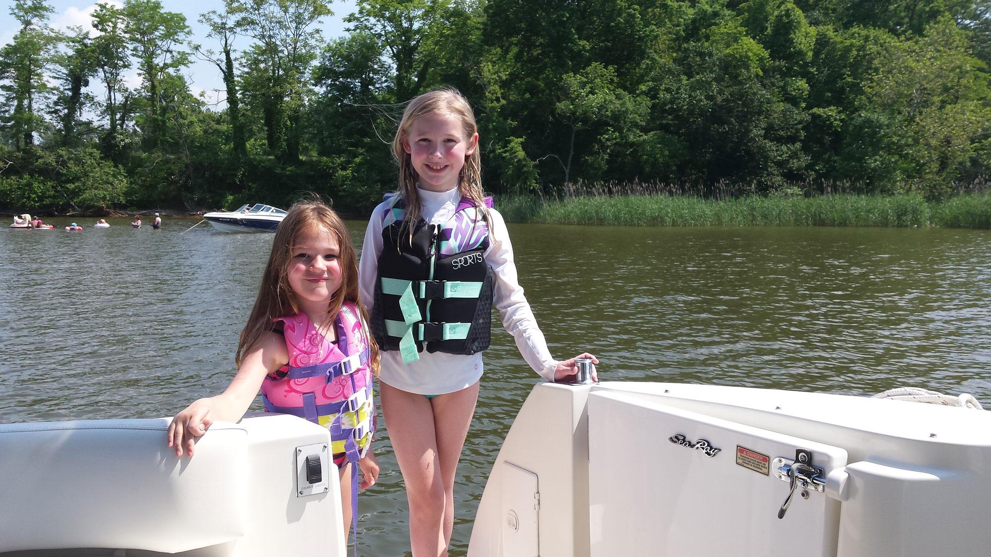 boat safety kids